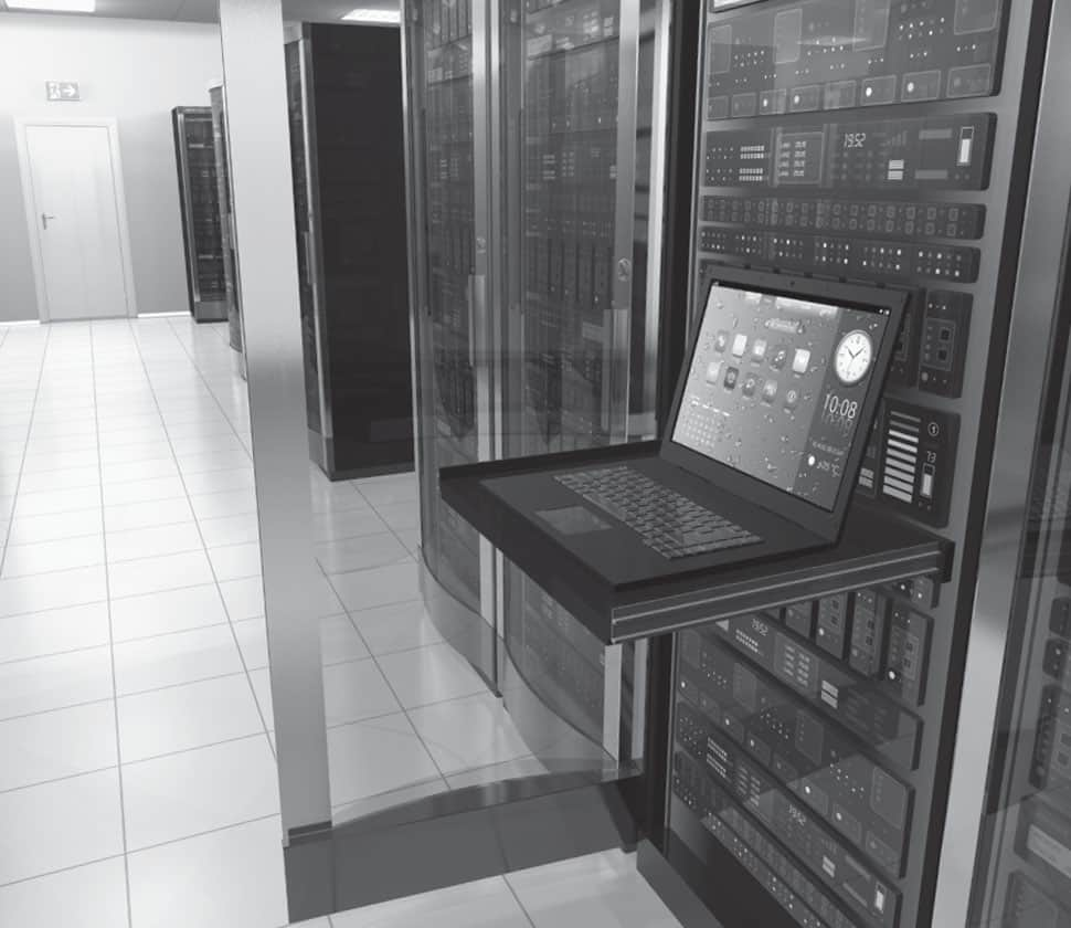 Flair Data History Server Room