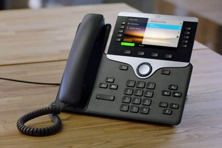 Cisco 8800 Series VOIP Phone
