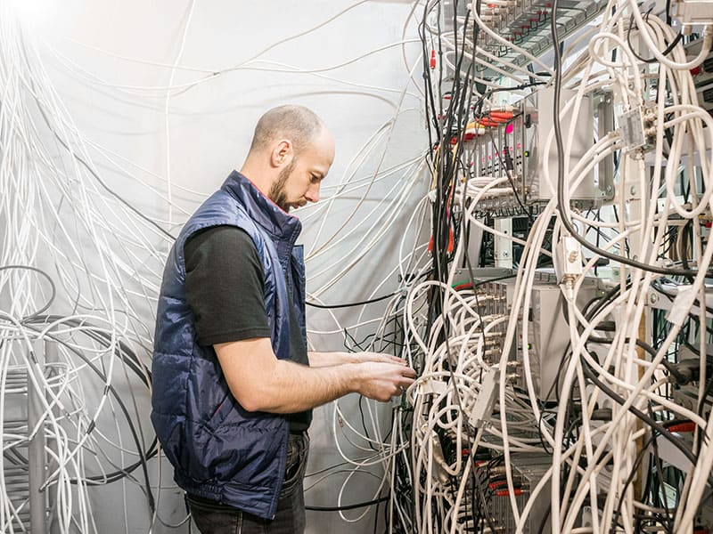 Network Cabling Clean-Up